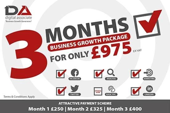 New Year, New Marketing Start, New Customers -2 Packages Available.