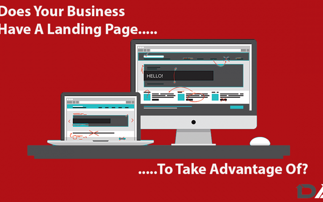 Landing Pages & the Difference to Websites-Do you understand this & recognise the need to have both?